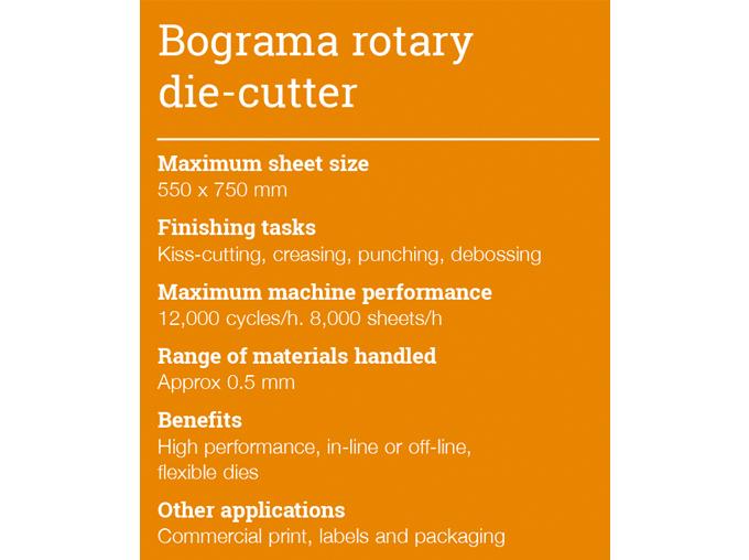 Bograma rotary die-cutter