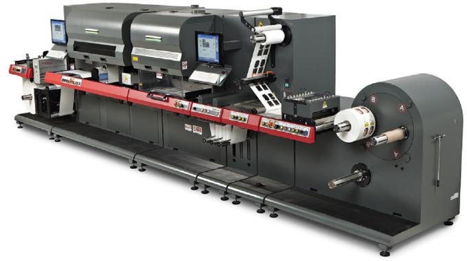 EFI Jetrion 4900 inkjet press