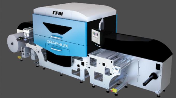 FFEI Graphium digital inkjet press