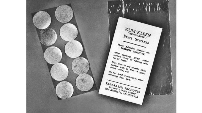 Figure 1.2 Kum-Kleen stickers