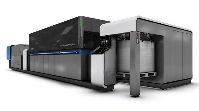 Figure 1.8 - Landa nanographic printing press