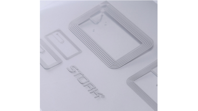 Figure 12.10 - SPGPrints collaborates with major suppliers of conductive inks to make RFID antenna