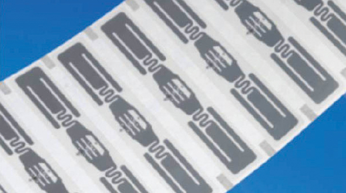 Figure 12.11 - A typical RFID inlay