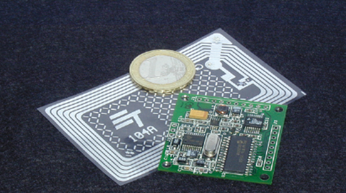 Figure 12.12 - A typical RFID inlay