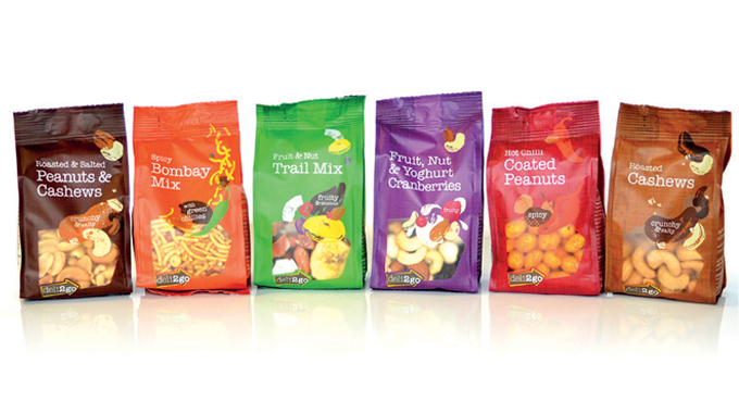 Figure 1_11 Examples of printed filmic packaging used in the food sector
