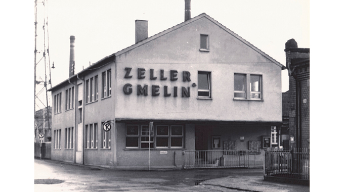 Figure 2.1 Zeller+Gmelin recently celebrated its 150th anniversary