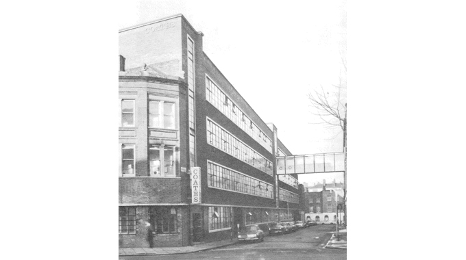 Figure 2.2 Coates Brothers & Company was founded in 1877 in the London suburb of St Mary's Cray