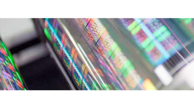 Figure 2.7 Hologram production