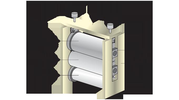 Figure 3.1 - A rotary die-cutting unit
