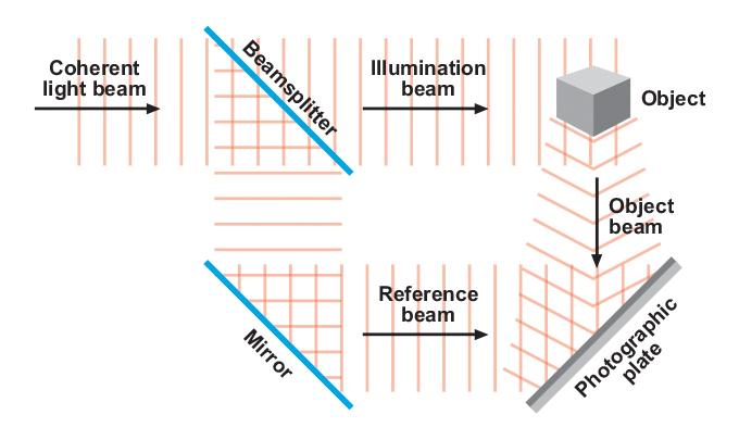Figure 3.3 - Illuminating and transferring the image