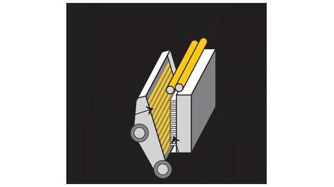 Figure 3.4 - Diagram of platen press Source- 4impression