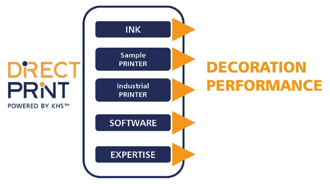 Figure 3.4 System solution to direct print