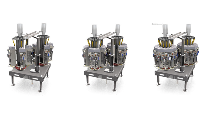 Figure 3.7 Illustrates a modular configuration used on KHS digital Direct Print equipment