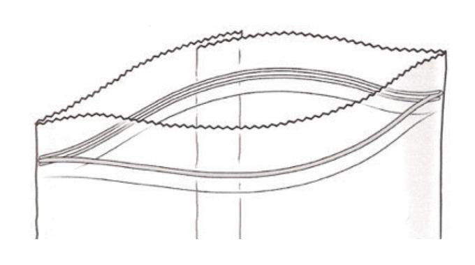 Figure 3_11 Zipper closure. Source- Esko