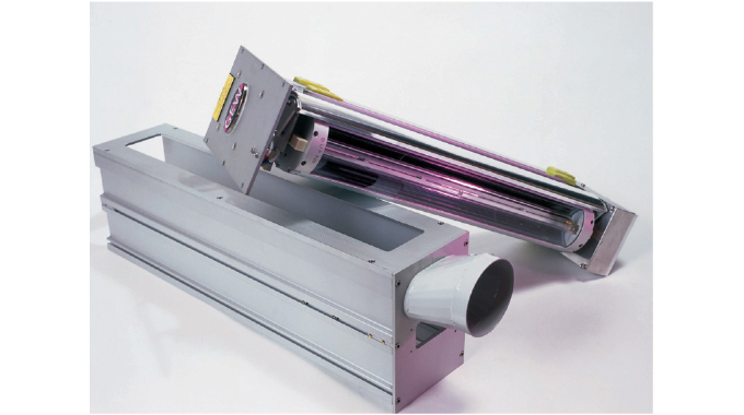 Figure 4.16 - Typical UV Curing System. Source- GEW
