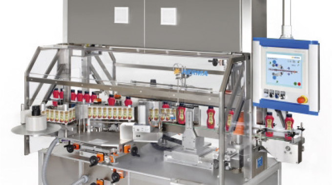 Figure 4.18 Herma 362M labeling system