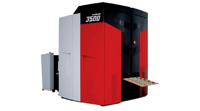Figure 4.3 - Xeikon 3500 digital press