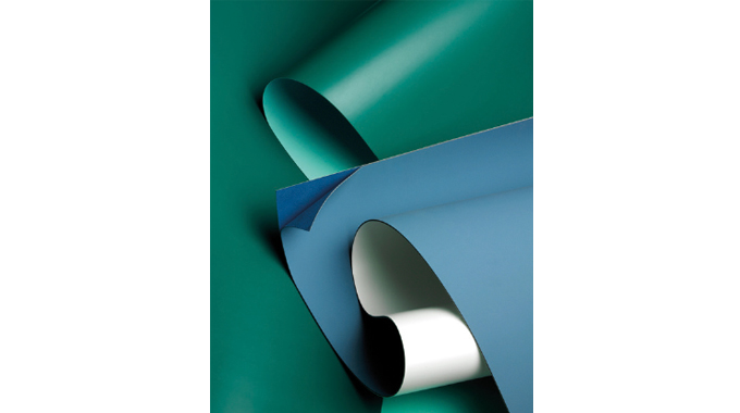 Figure 4.8 - Blanket material used in the litho process. Source- Trelleborg