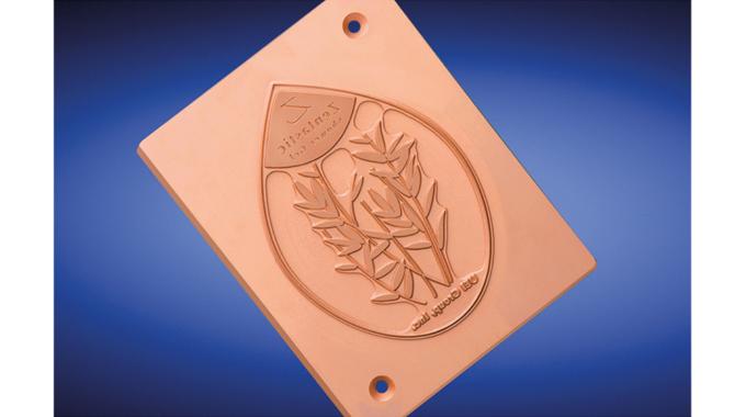 Figure 5.10 - UEI Falcontec Zentastic flatbed copper die