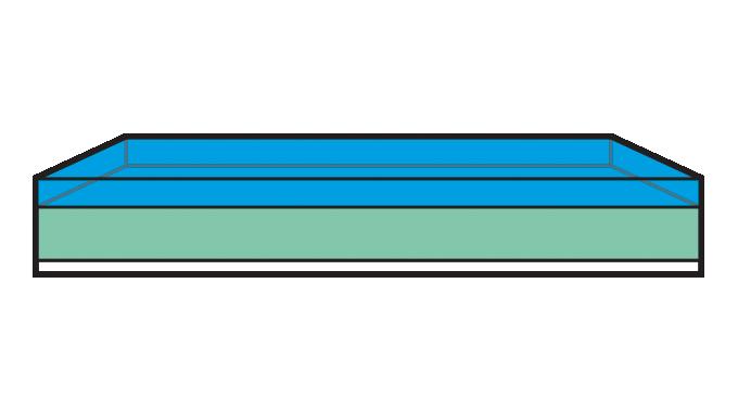 Figure 5.12 - Flexo plate structure prior to exposure. Source- 4impression