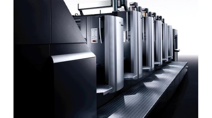 Figure 5.2 Heidelberg Speedmaster multi-stage sheet-fed printing press