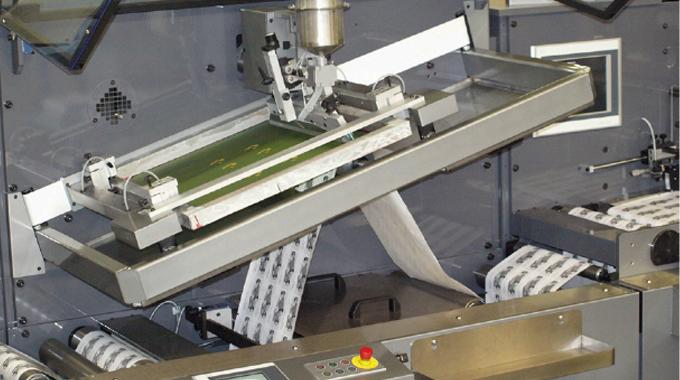 Figure 6.3 - Actual flatbed screen label press. Source- Smag