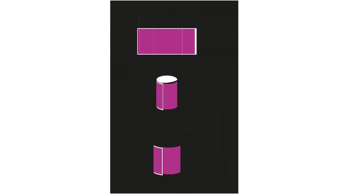Figure 7.20 Important shrink sleeve design parameters. Source- Esko