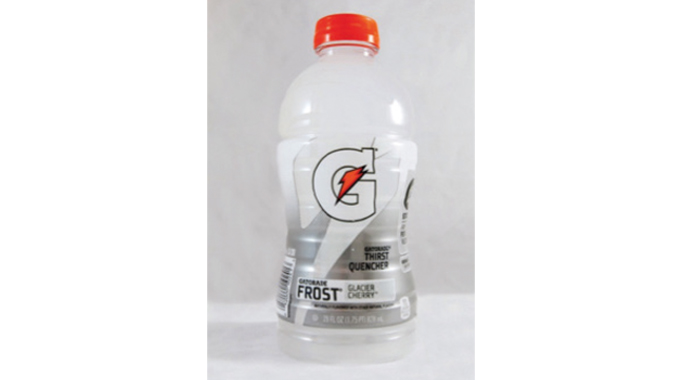 Figure 7.21 Typical roll-fed MD shrink sleeving application - Pepsi Co Gatorade Thirst Quencher and