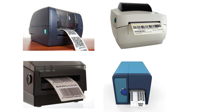 Figure 7.2 - Some of the many on-demand thermal barcode printers available today