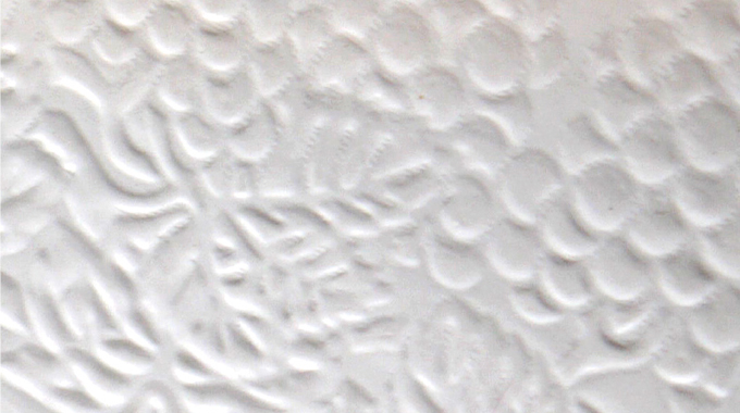 Figure 7.3 - An example of blind embossing