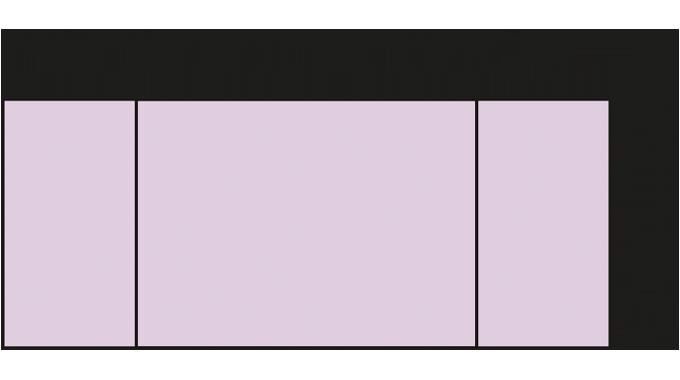 Figure 7.3 Direction of shrink machine direction (MD) v transverse direction (TD)