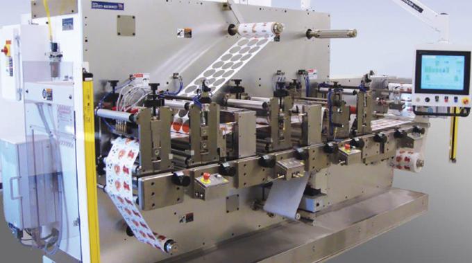 Figure 7.5 - Delta Spectrum digital print finishing machine