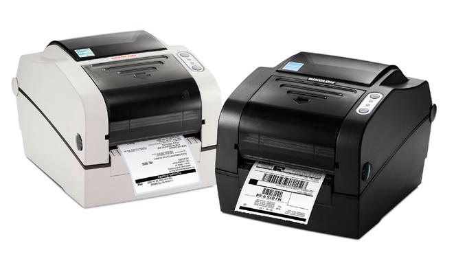 Figure 7.6 - The Bixolon SLP-TX420 thermal transfer printer