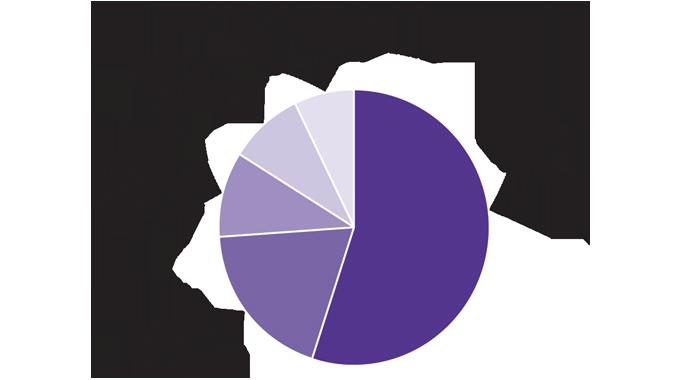 Figure 7_2 Global flexible packaging market – the key end-use markets for flexible packaging