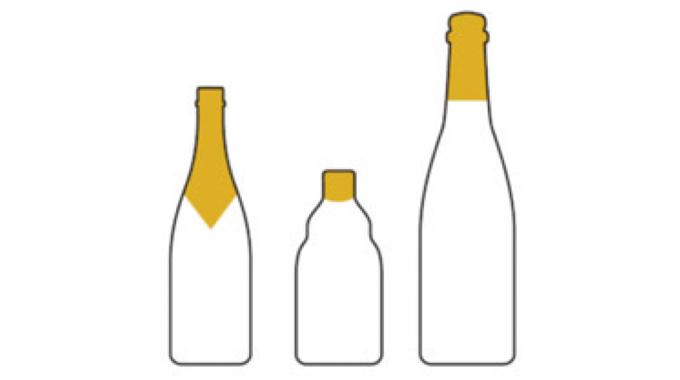 Figure 8.16 Bottle neck foiling conveys the impression of high quality