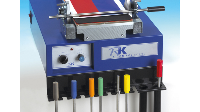 Figure 8.2 Automated wire applicator. Source- RK PrintCoat Instruments