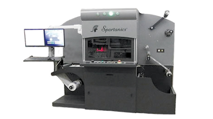 Figure 8.5 - Spartanics L-Series cutting and converting system