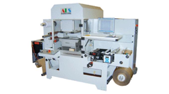 Figure 8.6 - ALS Laser Dieless Label Cutter