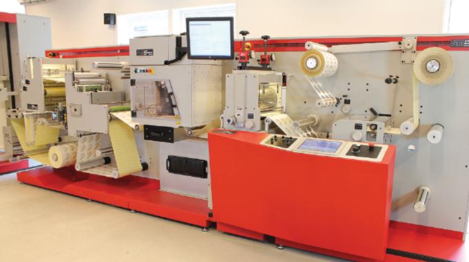 Figure 8.8 - The GM L330 Laser die-cutting system