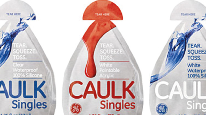 Figure 8.9 Typical single serve packs for a home improvement range