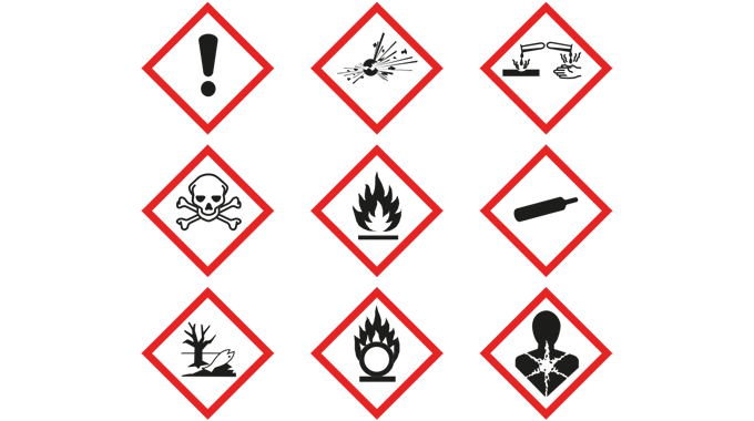 Figure 9.2 New GHS pictograms