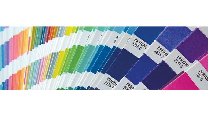 Figure 9.5 - Digital is a calibrated system in which the specific color or colors on the label or pa