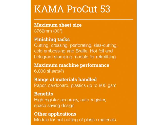 KAMA ProCut 53