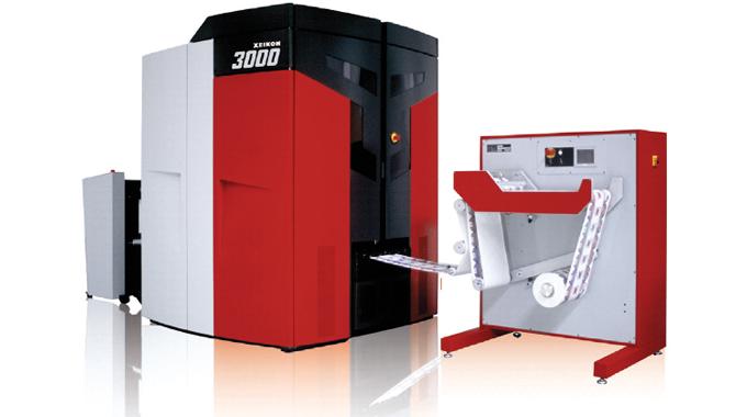 Xeikon 3030 digital press