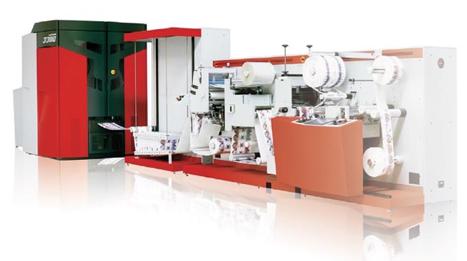 Xeikon 3300 digital label press with DCoat finishing equipment