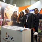 Max Speciality Films team at their stand during Labelexpo Europe 2015