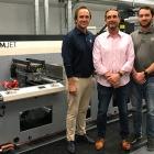 L-R: Andy Staib, Tom Staib and TJ Staib of DWS Printing