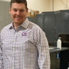 QTL president Rob Daniels with  the HP Indigo 8000 digital press