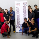The team at South African shrink sleeve specialist Packology