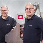 Bjarke Nielsen (left), CTO and founder, and Henrik Haagensen, managing director, Refine Finishing